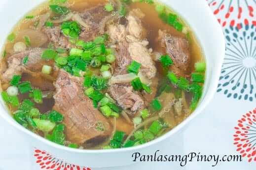 Beef Lauya Soup Recipe