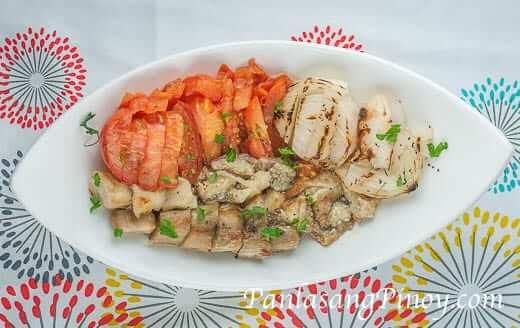 Ensaladang Filipino Recipe