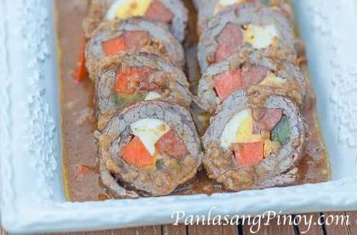 Filipino Morcon Recipe