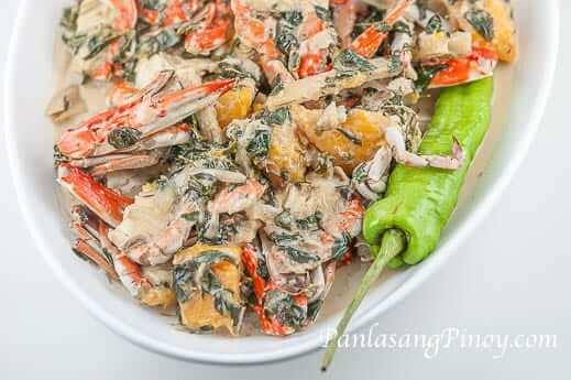 Ginataang Alimasag with Malunggay Recipe 2