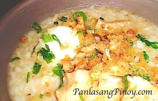 Filipino Goto Rice Porridge Recipe