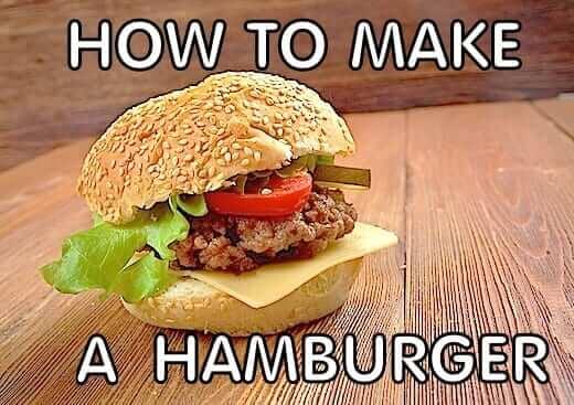 How to make hamburger