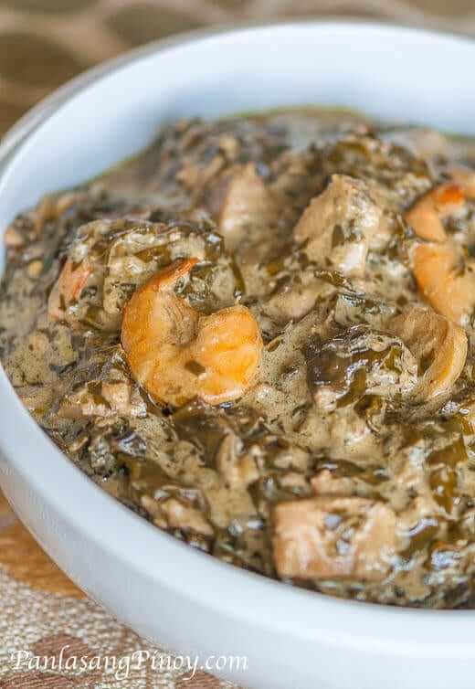 Laing with Shrimp Recipe