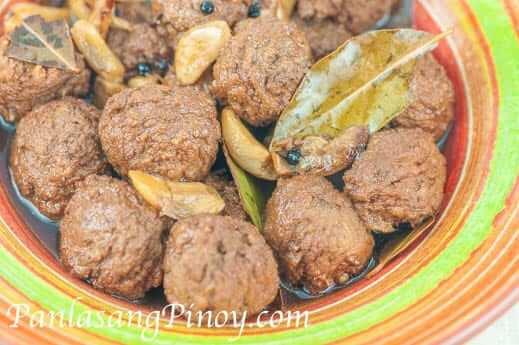 Meatball Adobo Recipe