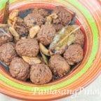 Adobo Meatballs Recipe