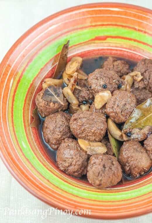 Meatball Adobo