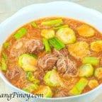 Misua and Meatball Soup