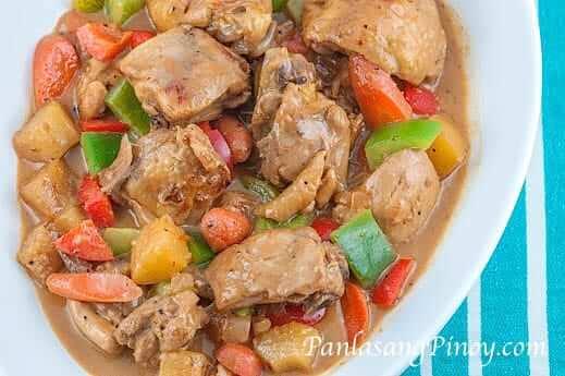 Pininyahang Manok Sa Gata Pineapple Chicken In Coconut Milk