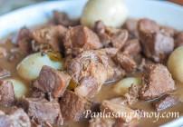 Pork Adobo with Egg