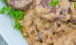 Salisbury Steak with Beef and Mushroom Gravy