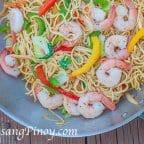 Shrimp Pancit Canton Recipe