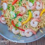Shrimp Pancit Canton Recipe 2