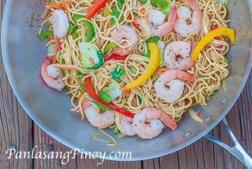 Easy Shrimp Pancit Canton Recipe