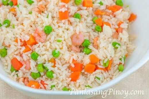 Shrimp and Veggie Fried Rice Recipe