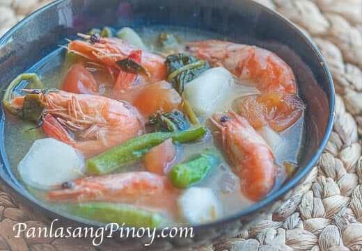 Sinigang-na-Hipon-Recipe