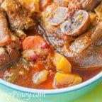 Slow Cook Pork Hock Stew