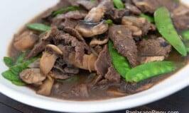 Asian Beef with Mushroom