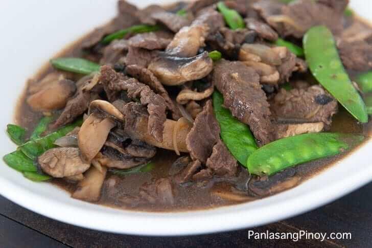 Asian Beef with Mushroom Recipe