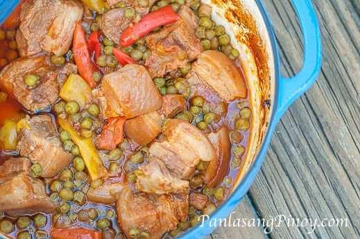 Dutch Oven Pork Stew Recipe