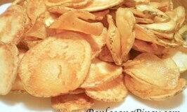 Homemade Potato Chips Recipe