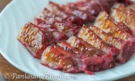 Barbecued Pork Char Siu