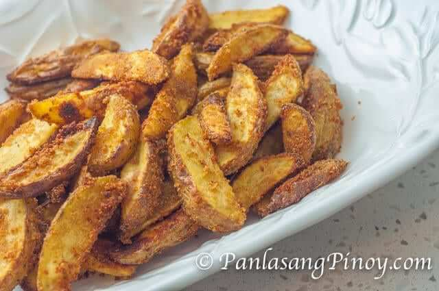 Crispy Yukon Gold Potato Wedges Recipe