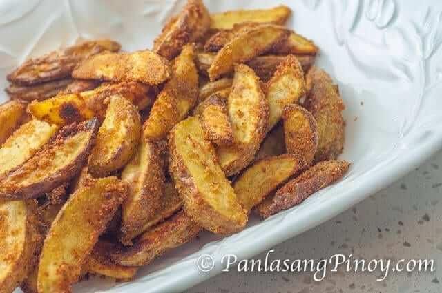 Crispy Yukon Gold Potato Wedges Recipe