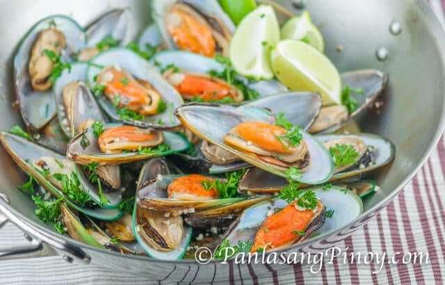 Drunken Mussel Recipe