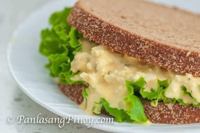 Egg Sandwich Spread Recipe Panlasang Pinoy