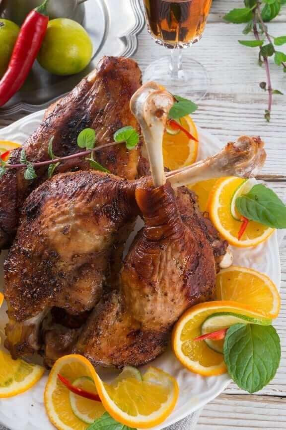 prepare a turkey