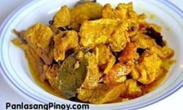 Adobong Dilaw Recipe (Yellow Adobo)