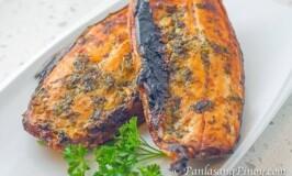 Baked Garlic Milkfish