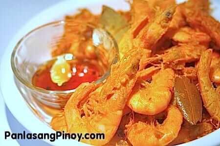 Crispy Shrimp Adobo