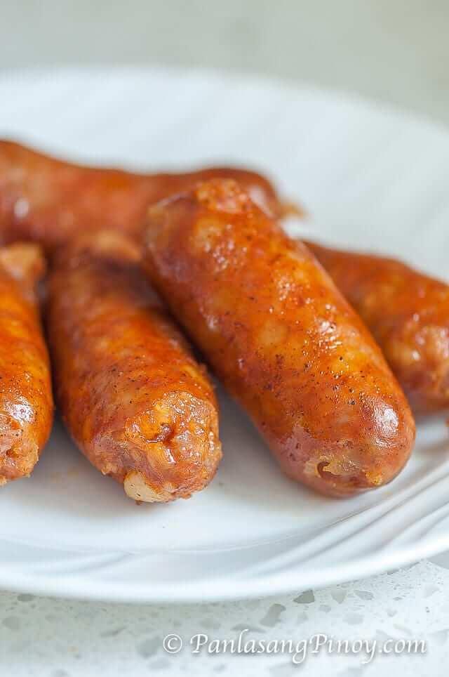 Longanisa Sausage Recipe Filipino