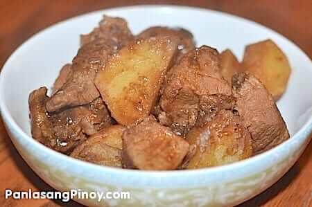 Pork Adobo with Potato