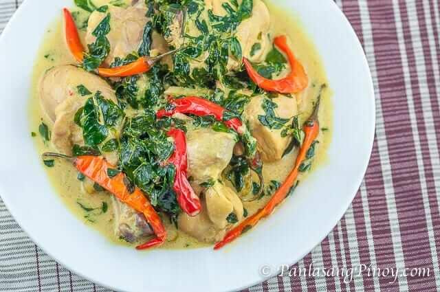 Spicy Chicken In Coconut Milk Ginataang Manok Panlasang Pinoy