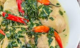 Spicy Chicken in Coconut Milk (Ginataang Manok)