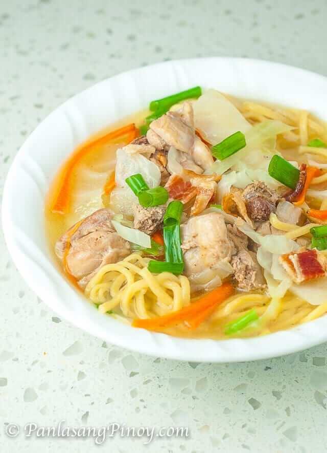 Filipino Chicken Noodle Soup