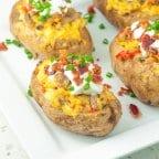 Loaded Breakfast Potato