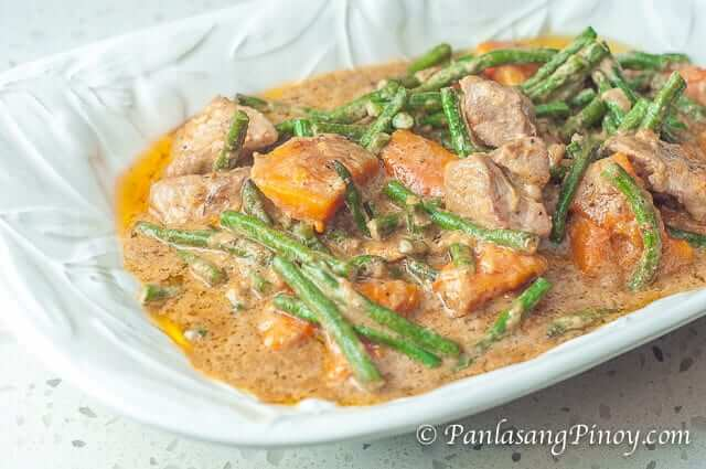 Pork Ginataan with Sitaw and Kalabasa Recipe-2