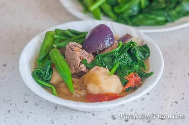 Beef Sinigang sa Kamias with Gabi