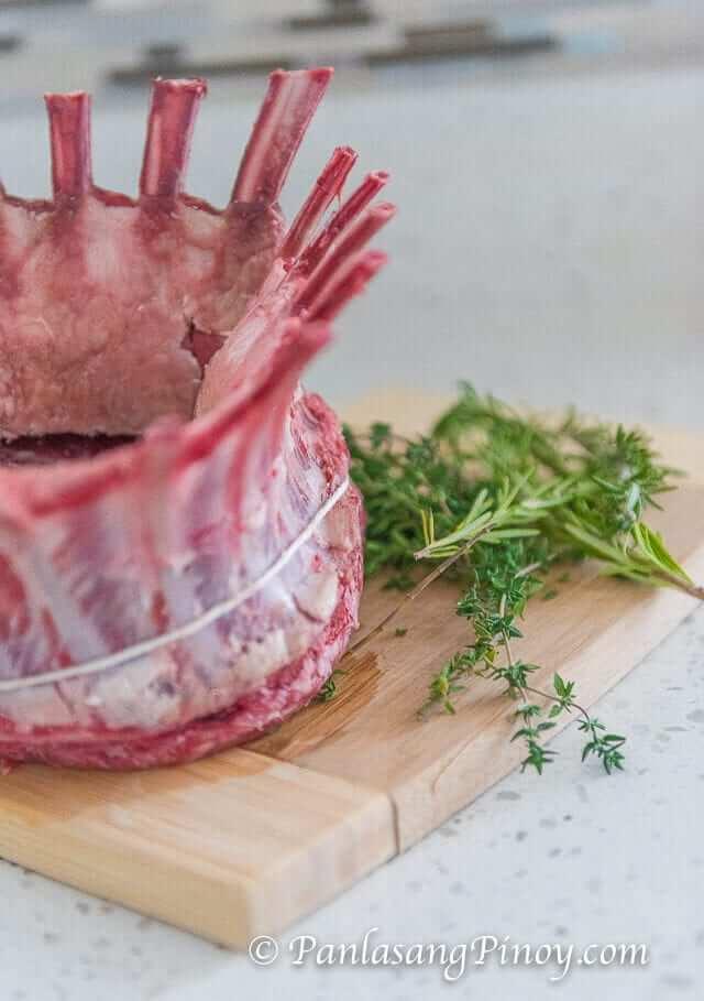 Easy Crown Roast Of Lamb_