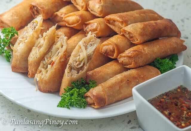 Lumpiang Gulay Vegetable Egg Roll Recipe Panlasang Pinoy