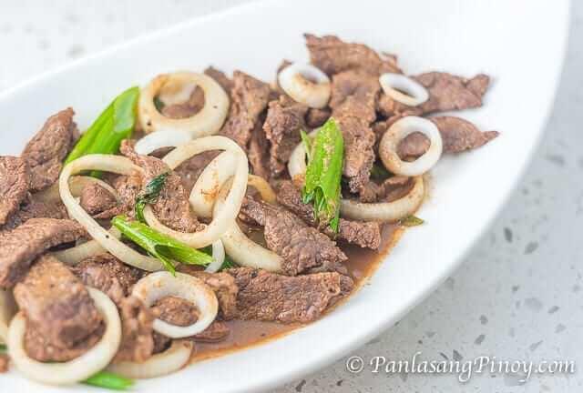 Sirloin Beef Steak Tagalog Recipe