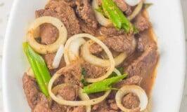 Sirloin Beef Steak Tagalog