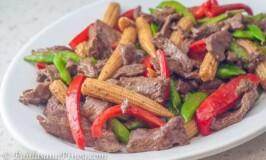 Beef and Baby Corn Stir Fry Recipe