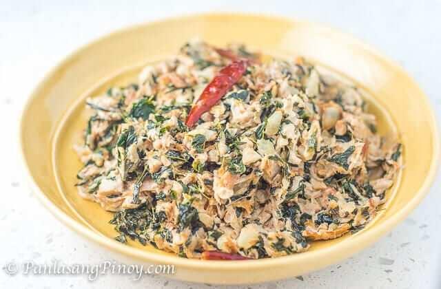 Ginataang Langka with Malunggay and Daing Recipe