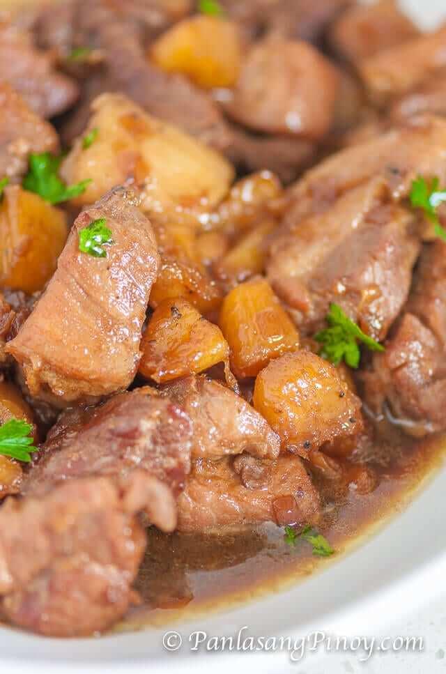 Pork Hamanonado