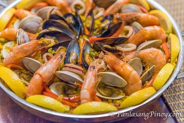 Seafood Paella Recipe-2