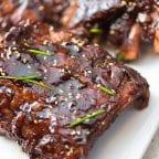 Asian BBQ Pork Baby Back Ribs